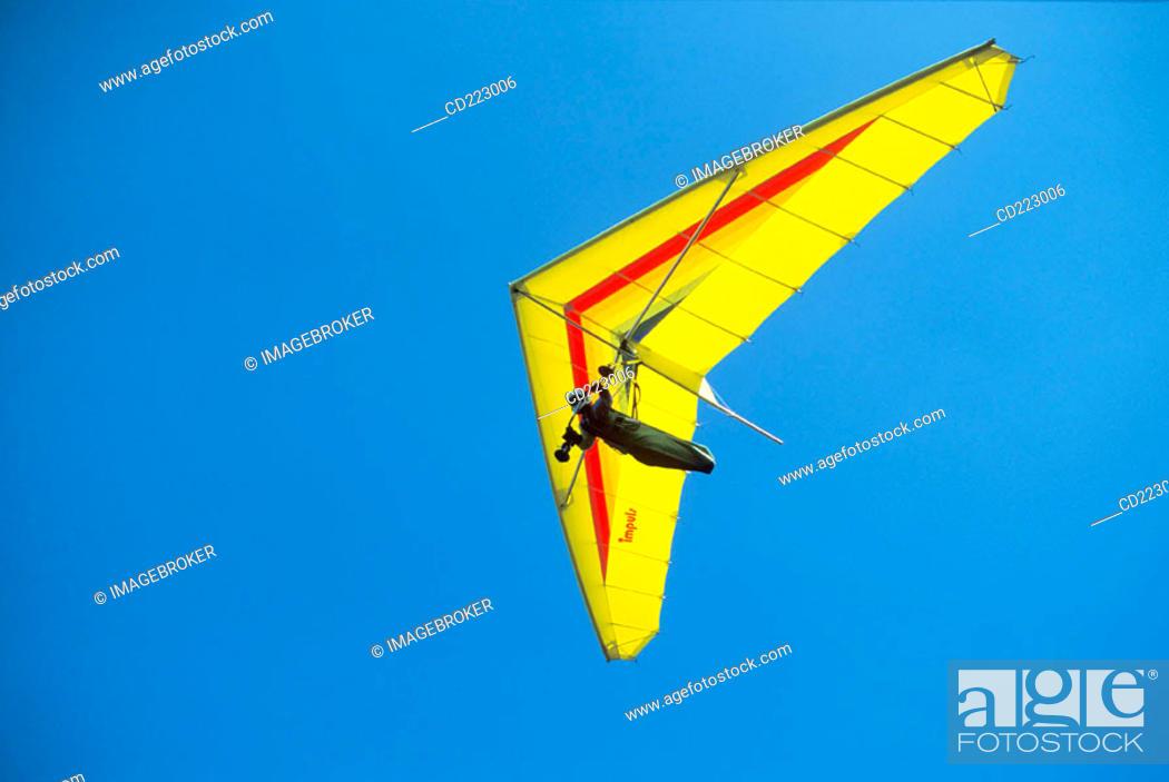 Stock Photo: Hang glider.