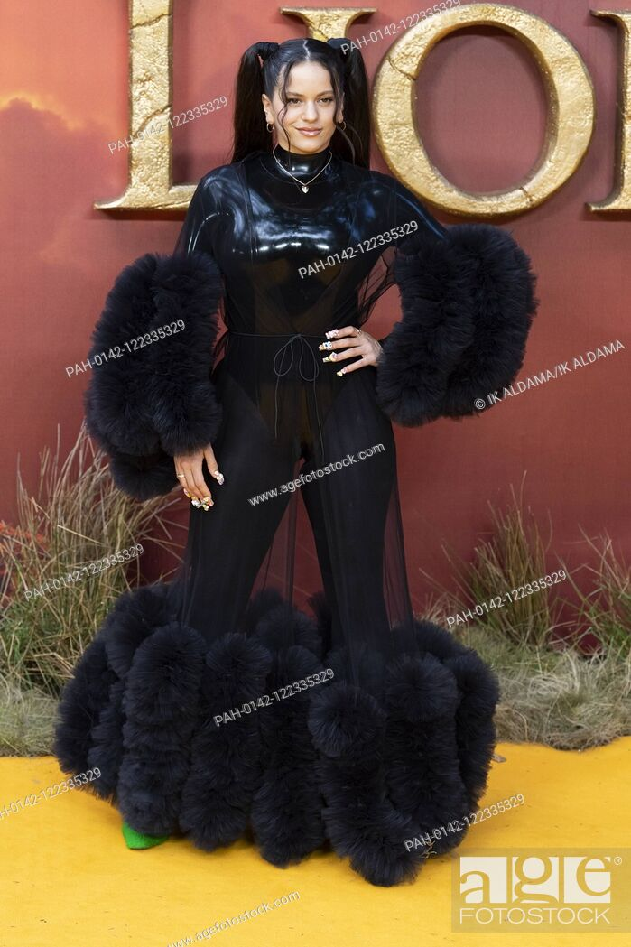 Stock Photo: Rosalia attends THE KING LION European Premiere at Leicester Square. London, UK. 14/07/2019 | usage worldwide. - London/United Kingdom of Great Britain and.