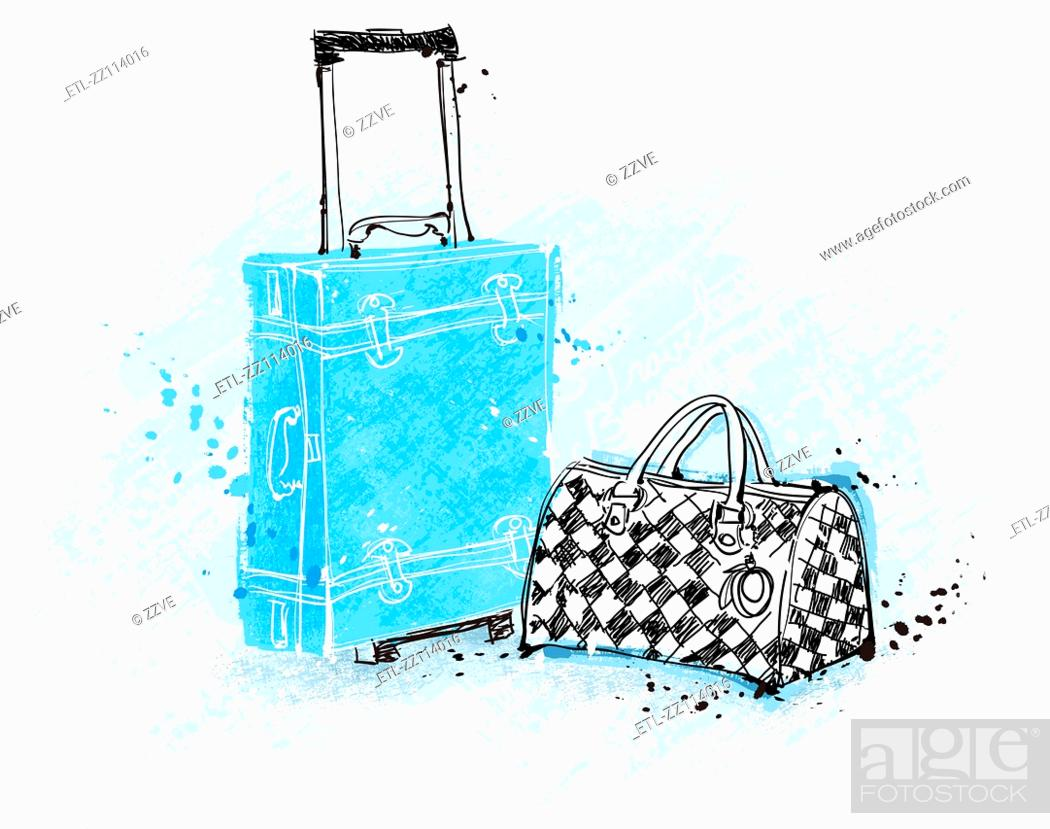 Stock Photo: Travel Bags.