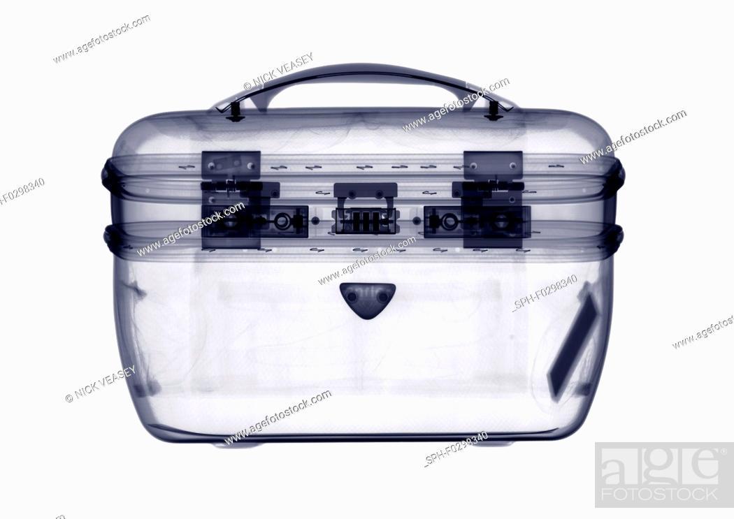 Stock Photo: Vanity case, X-ray.