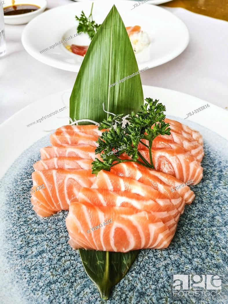 Stock Photo: Italy, sushi.