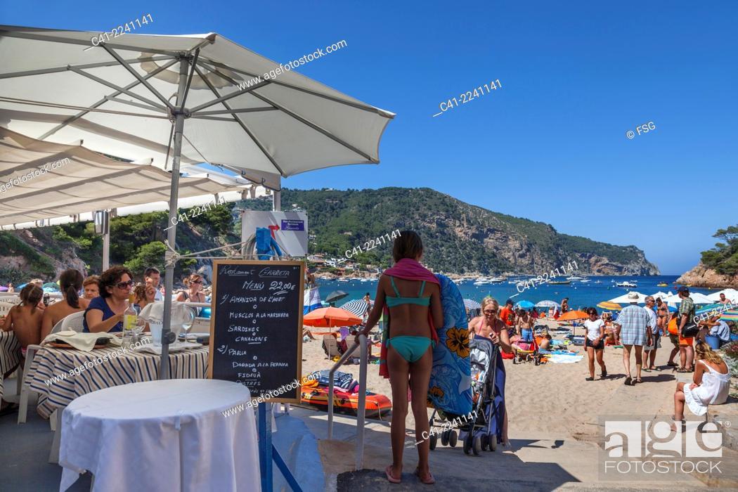 Imagen: Beach of Aiguablava. Begur.Costa Brava, Girona. spain.