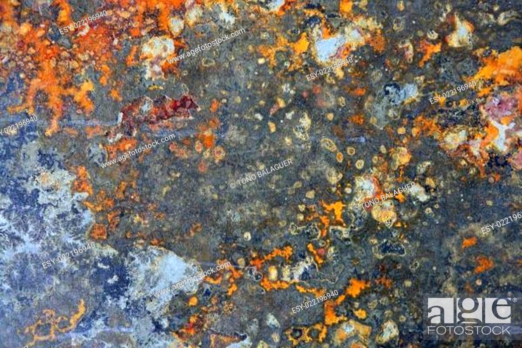 Stock Photo: Slate stone background natural texture.