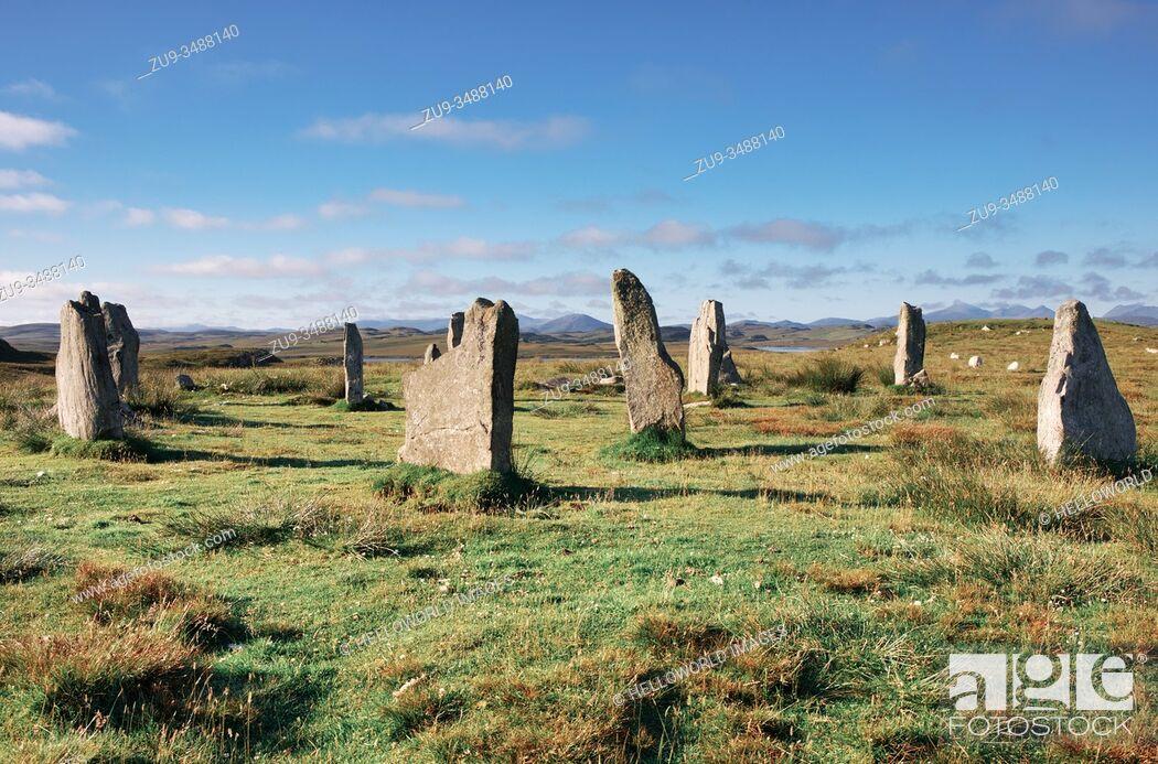 Stock Photo: Callanish Stones, Isle of Lewis, Outer Hebrides.