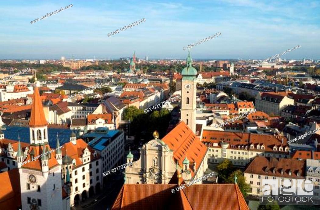 Stock Photo: München, Deutschland.