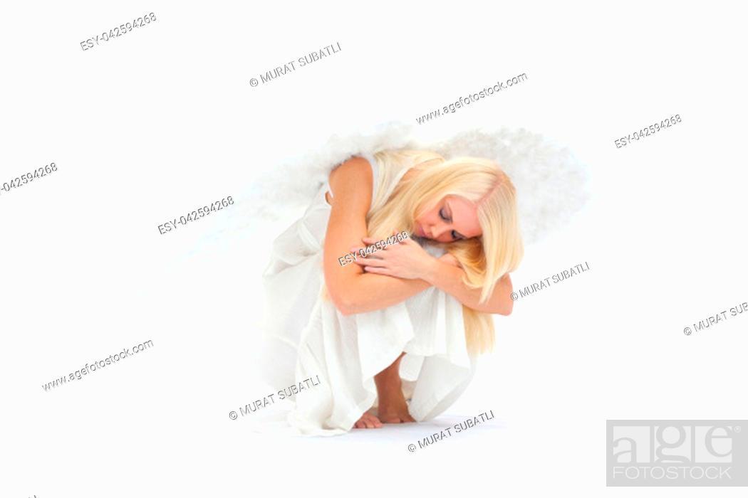 Stock Photo: Angel on Earth.