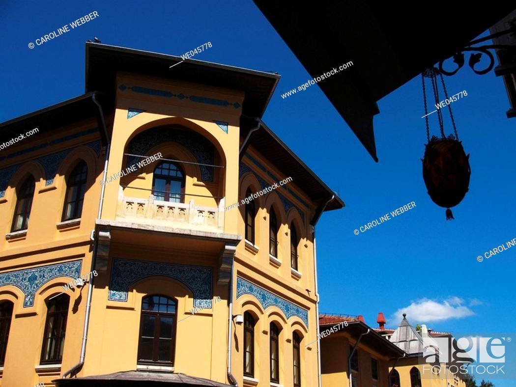 Stock Photo: Sultanahmet District, Istanbul.