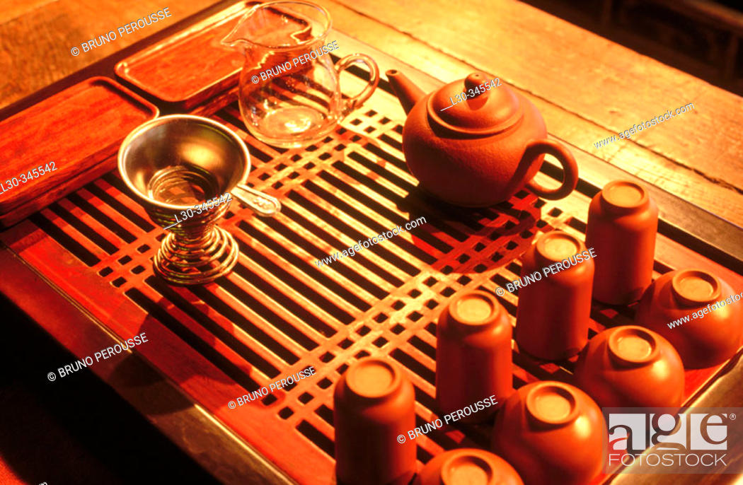 Stock Photo: Traditional tea house. Shanghai. China.