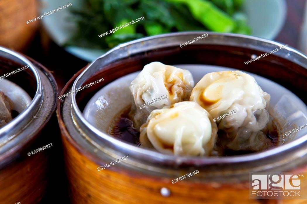 Stock Photo: Chinese dim sum.