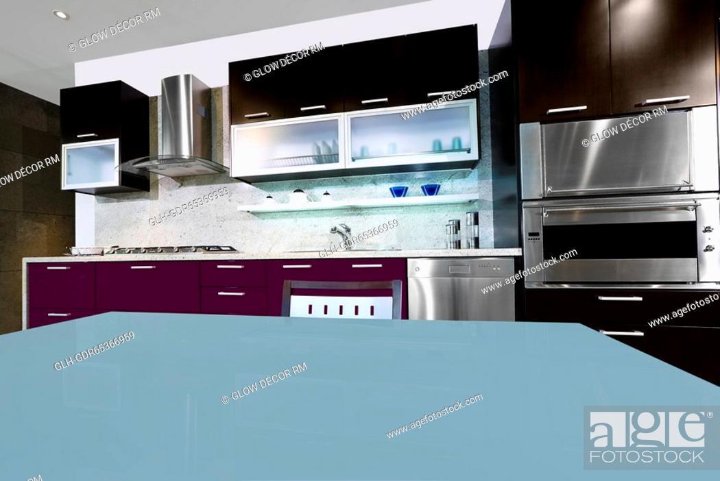Photo de stock: Interiors of the kitchen.