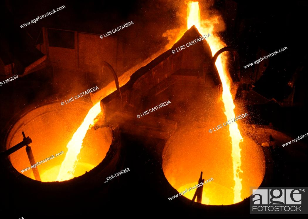 Stock Photo: Smelting Plant.