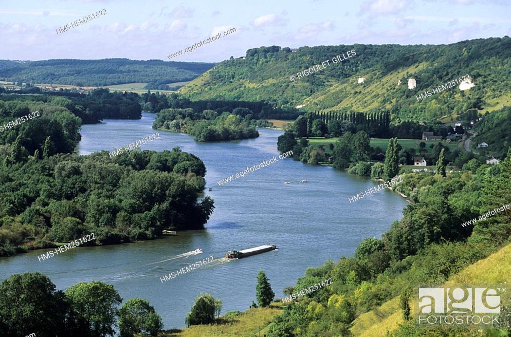 Imagen: France, Eure 27, Amfreville, the Seine.