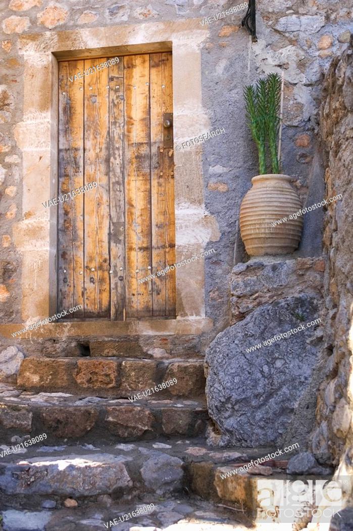 Stock Photo: Day, Door, Entrance, Exterior.