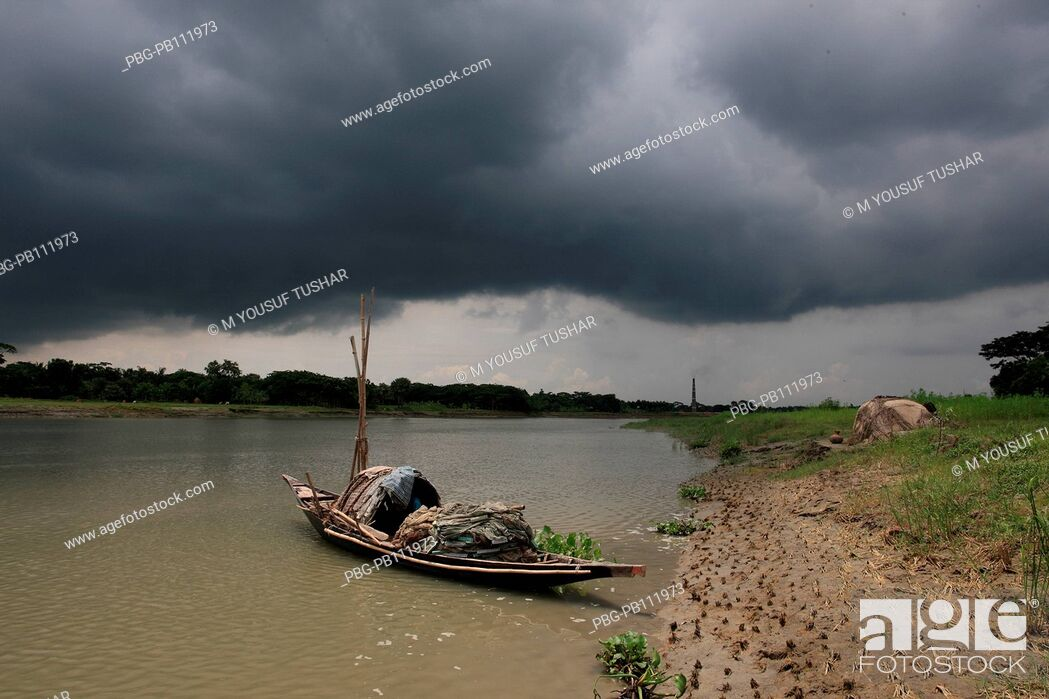 Imagen: Madhumati raver at Narail District of Bangladesh.