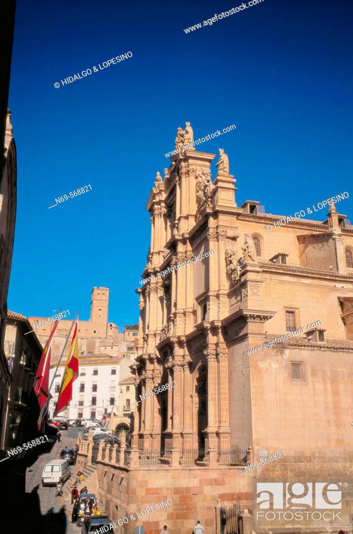 Stock Photo: Former Colegiata de San Patricio. Lorca. Murcia province. Spain.