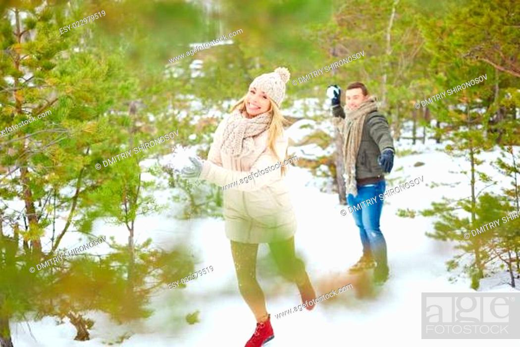 Stock Photo: Winter fun.