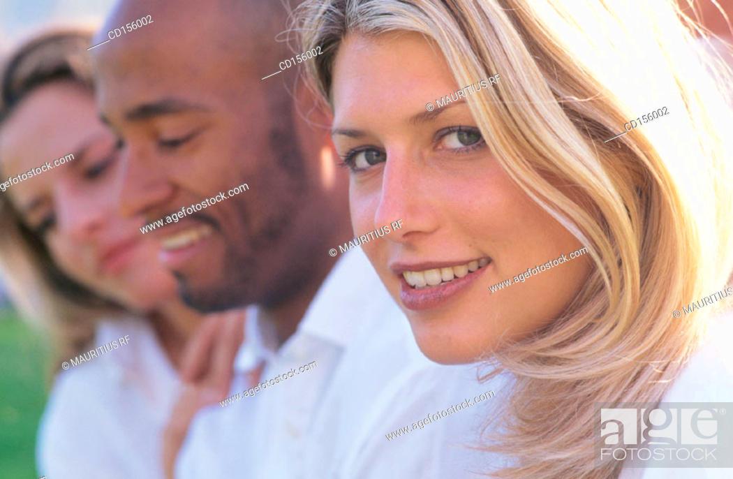 Stock Photo: Admiration, Flirt, Happy.