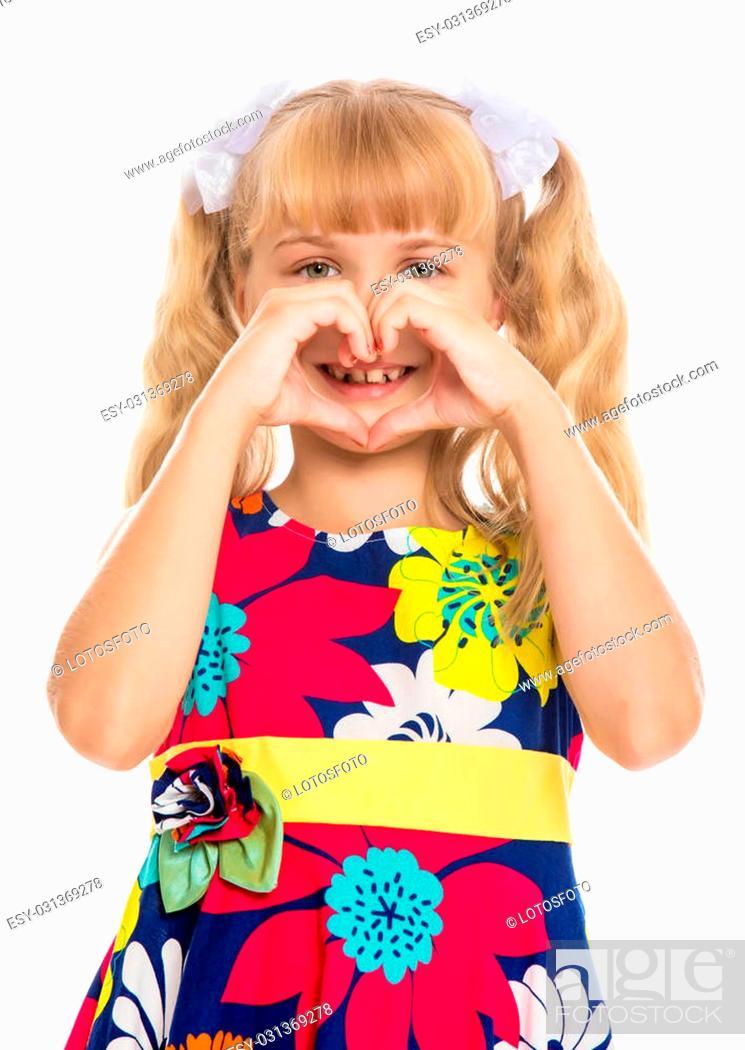 Enjoyable Beautiful Little Girl With Long Blond Hair Braided In Ponytails Schematic Wiring Diagrams Phreekkolirunnerswayorg