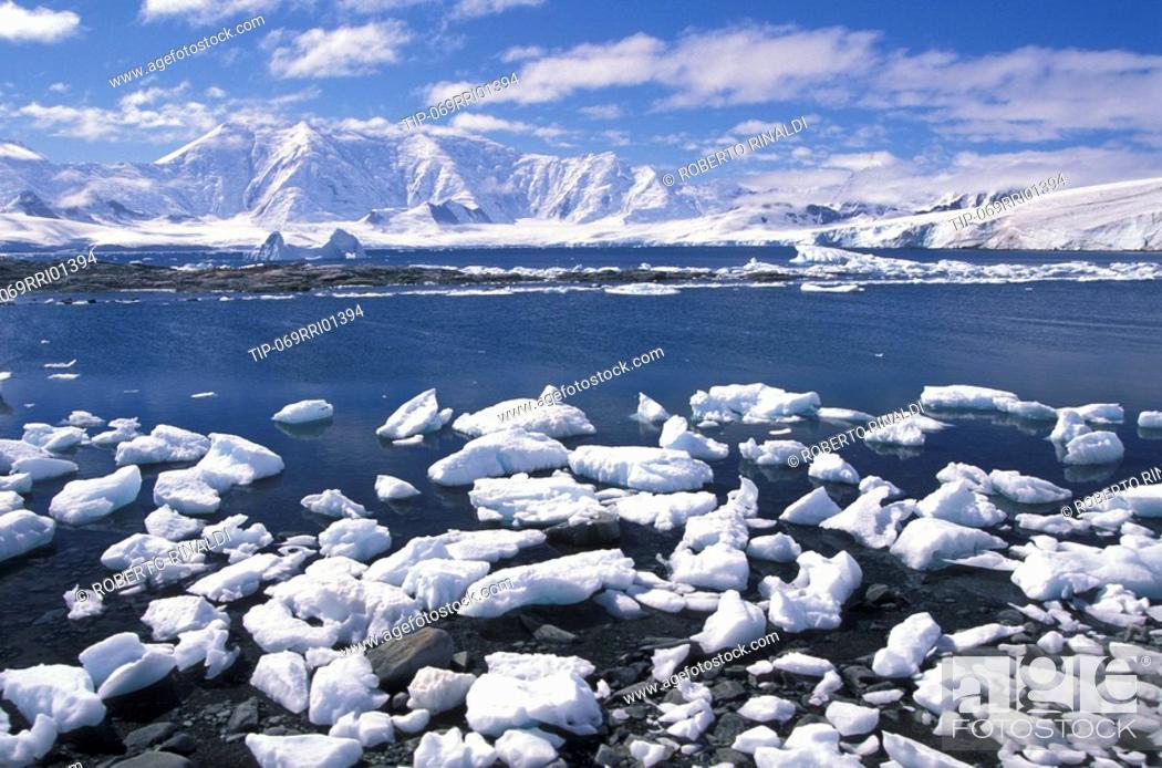 Stock Photo: Antarctic Peninsula, Port Lockroy.