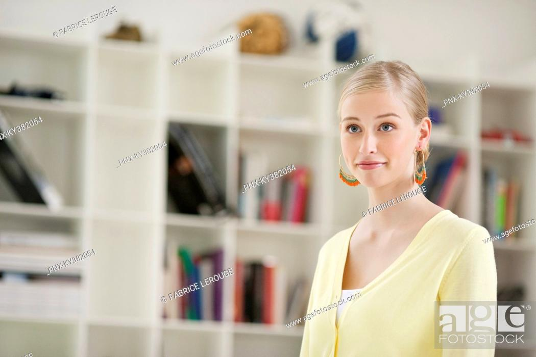 Stock Photo: Close-up of a woman.