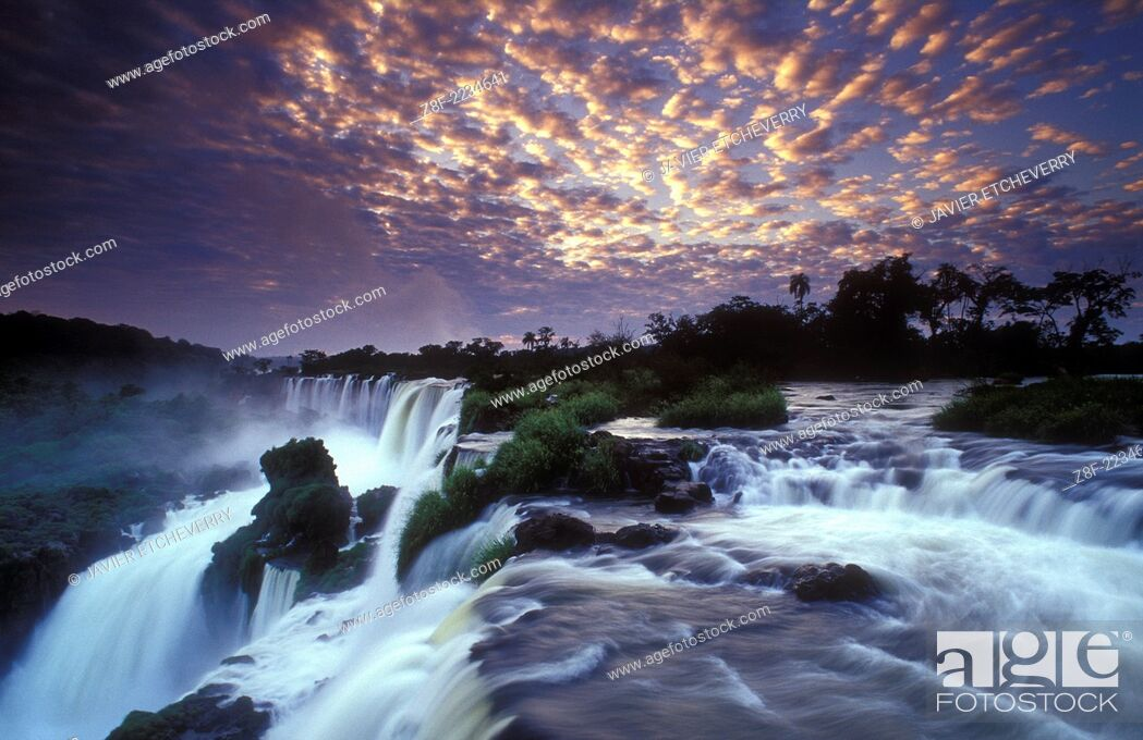 Stock Photo: Iguazu Falls National Park, Argentina.