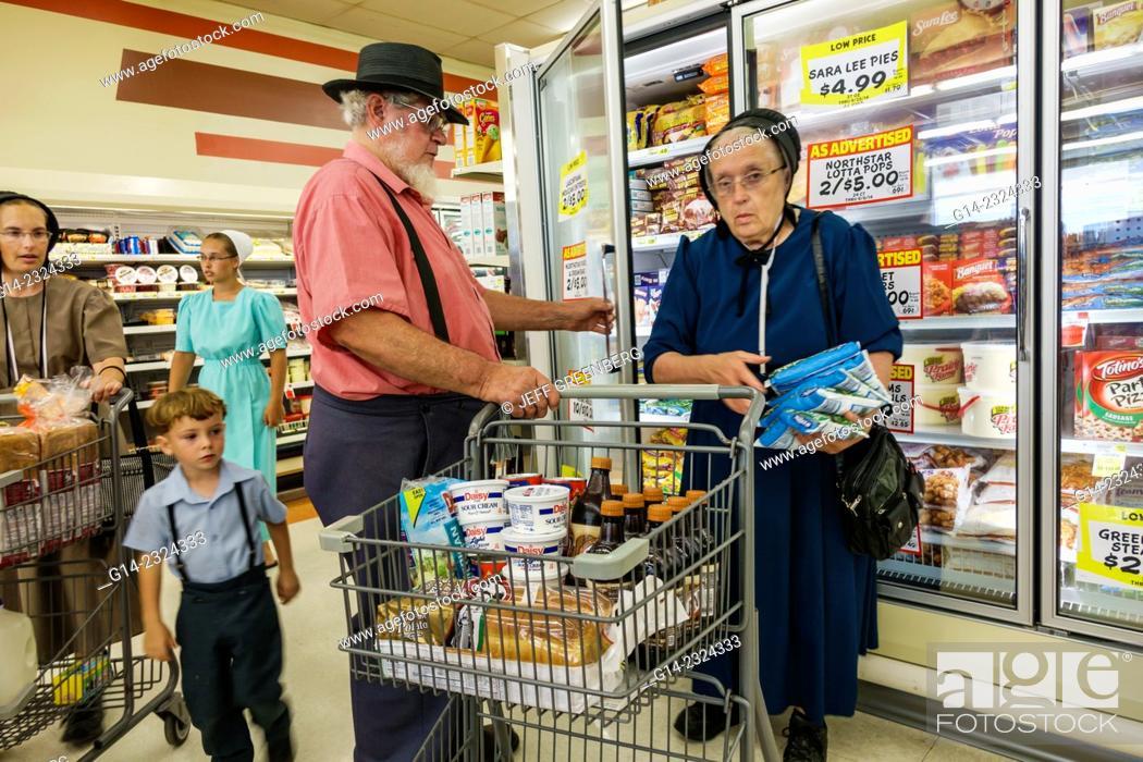 Illinois Arthur Vine Street Iga Foodliner Grocery Store