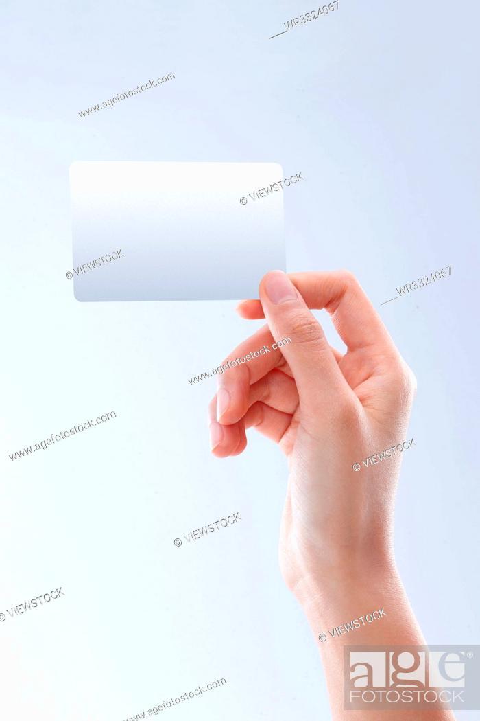 Imagen: Hand card.