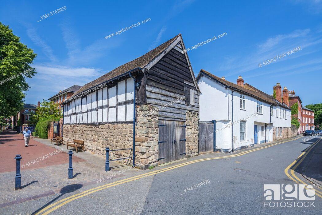 Stock Photo: Hereford, Herefordshire, England, United Kingdom, Europe.