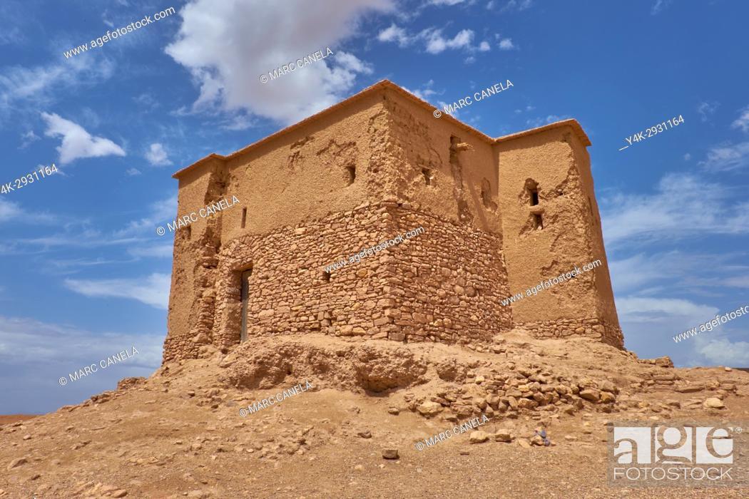 Photo de stock: Africa, Morocco, Ait ben Haddou near Ouarzazate.