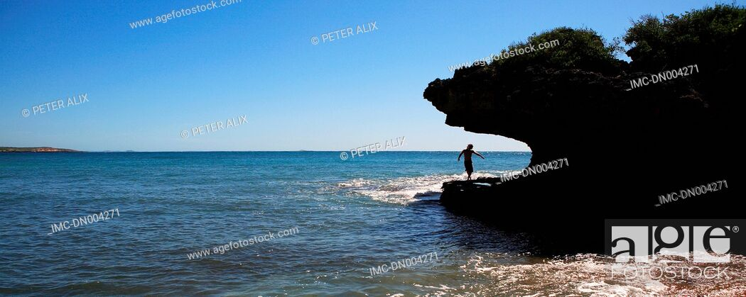 Stock Photo: Madagascar, near Diego Suarez, baie des dunes.
