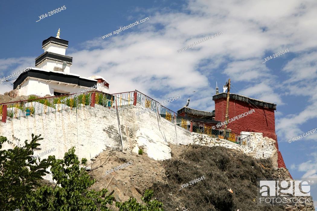 Stock Photo: Spituk Gompa, Spituk, Leh, Ladakh, India.