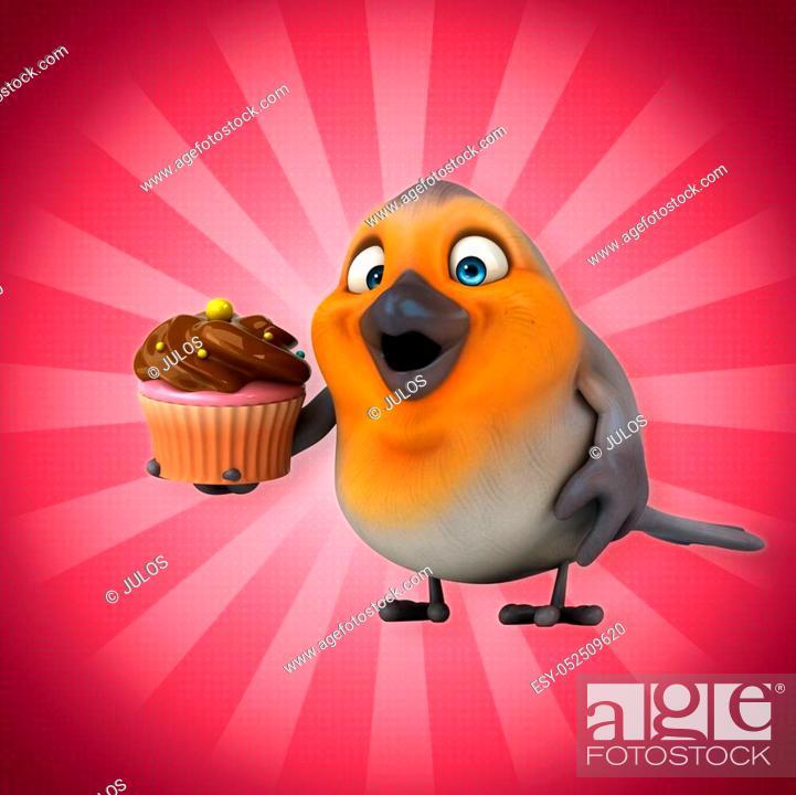 Stock Photo: Fun bird.