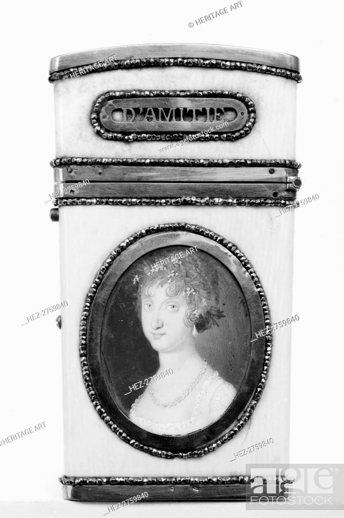 Photo de stock: Souvenir, 18th century. Creator: Unknown.