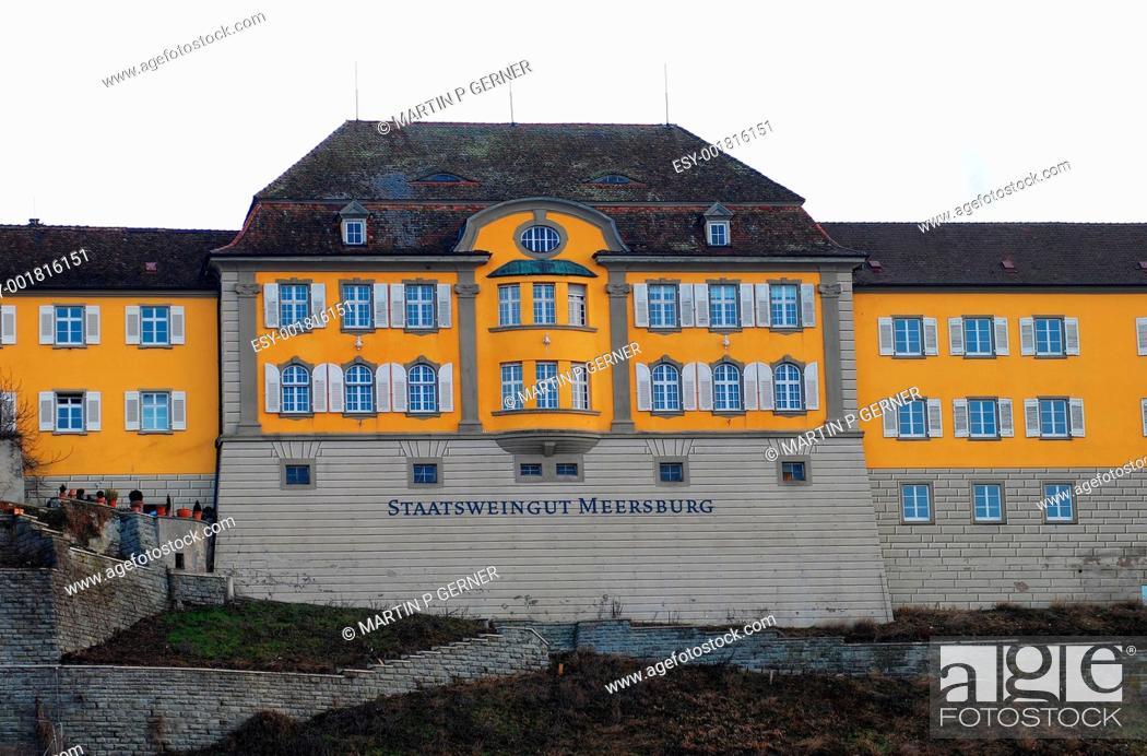 Stock Photo: Meersburg View.