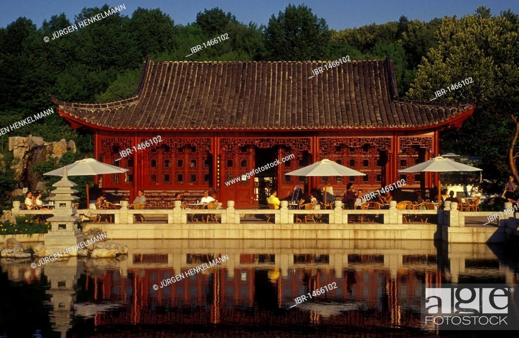 Imagen: Marzahn public park, Gardens of the World, Chinese Garden, Berlin Marzahn, Berlin, Germany, Europe.