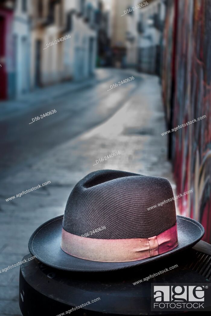 Stock Photo: hat, Valencia, Spain.