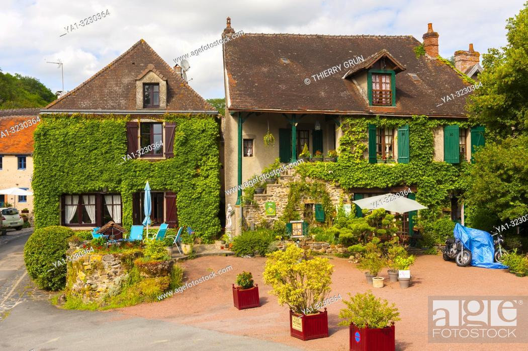 Imagen: France, Indre (36), Gargilesse-Dampierre village, cottage.