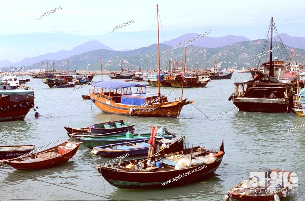 Stock Photo: Hong-Kong - ile de Cheung Chau.
