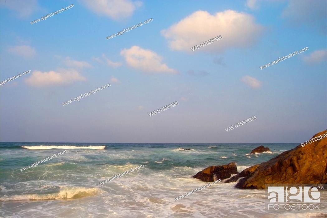 Stock Photo: ocean, wave, sea, landscape, scenery, waves.