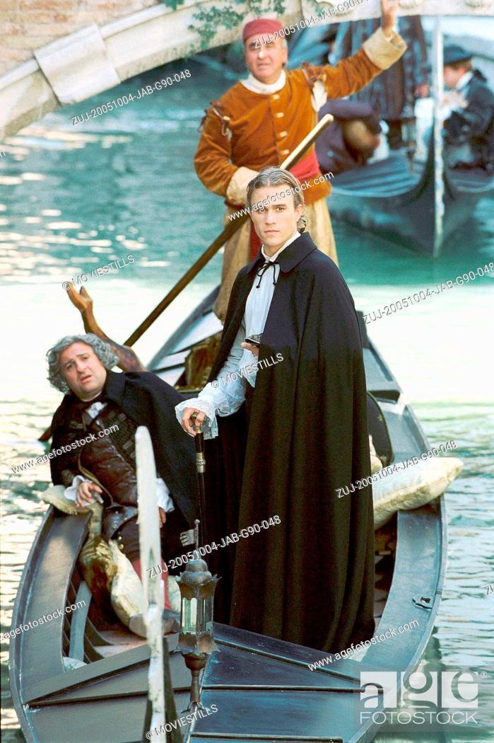 Stock Photo: RELEASED: Sep 3, 2005 - Original Film Title: Casanova. PICTURED: HEATH LEDGER (middle) stars as Casanova. (Credit Image: © Touchstone Pictures/Entertainment.