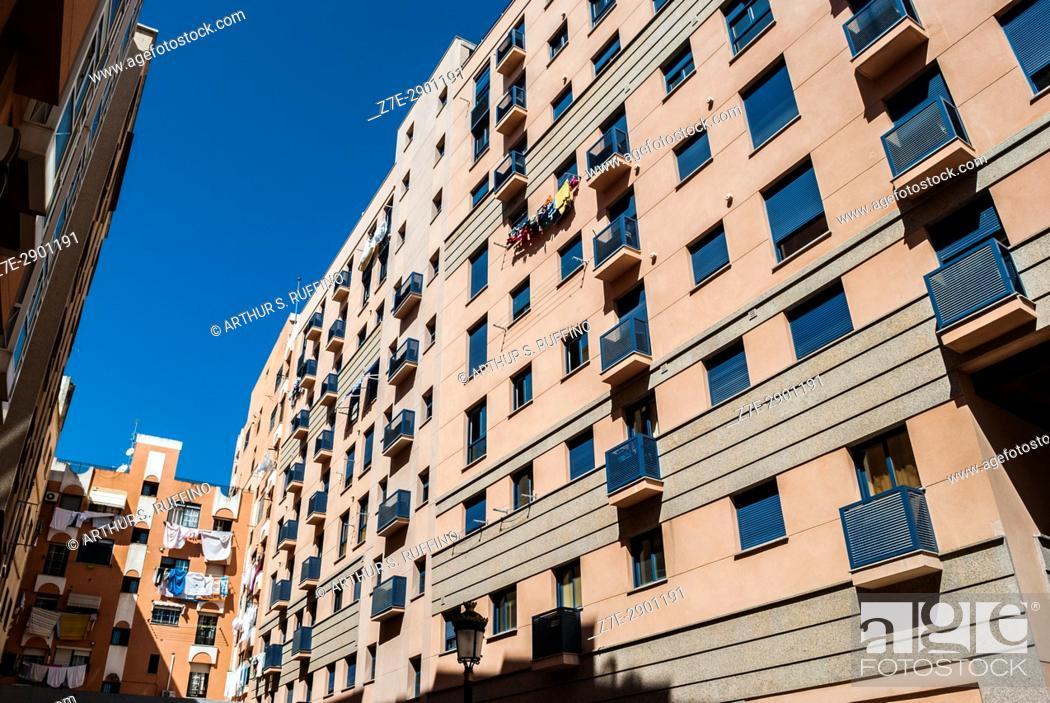 Stock Photo: Ceuta urban environment, Ceuta, autonomous City, Spain, North Africa, Moroccan coast.