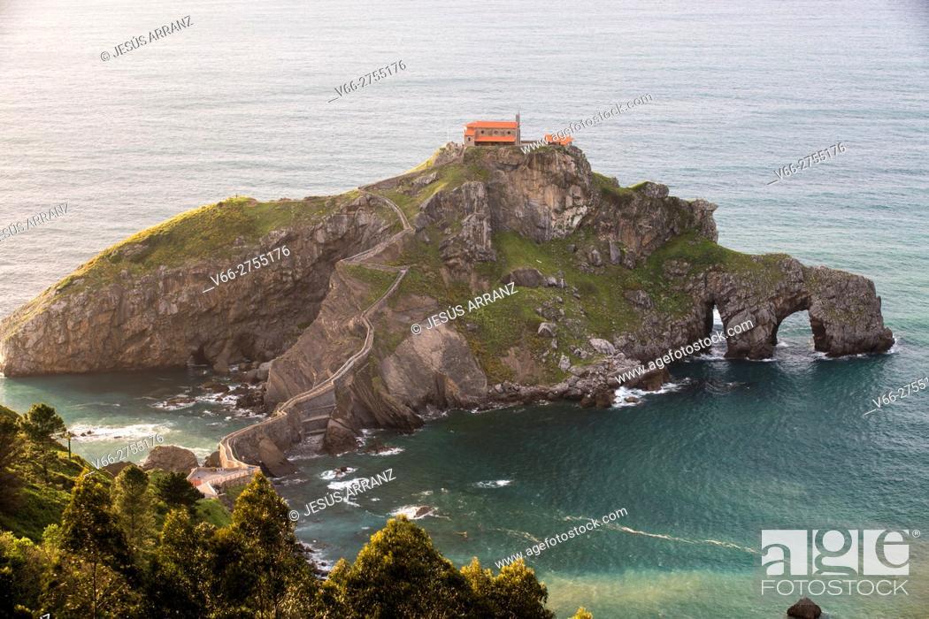 Imagen: San Juan de Gaztelugatxe.
