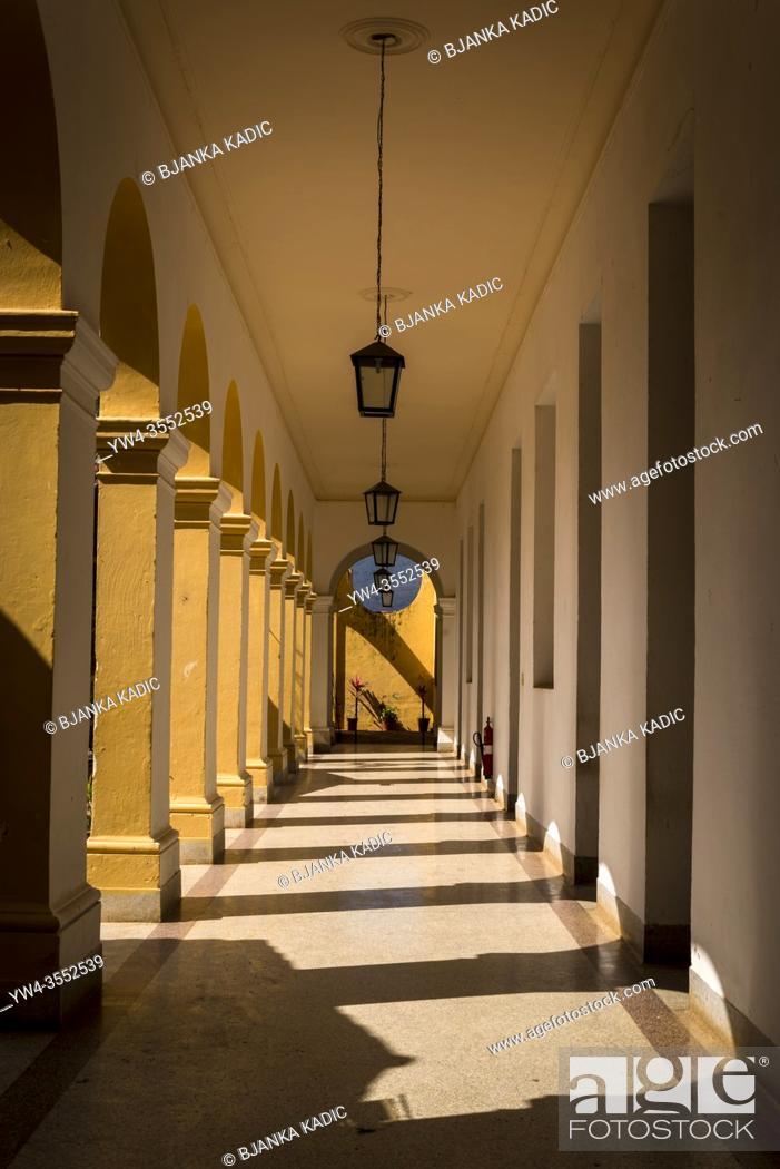 Photo de stock: Arcade of atrium of the Saint Francis of Assisi Monastery, Trinidad, Cuba.