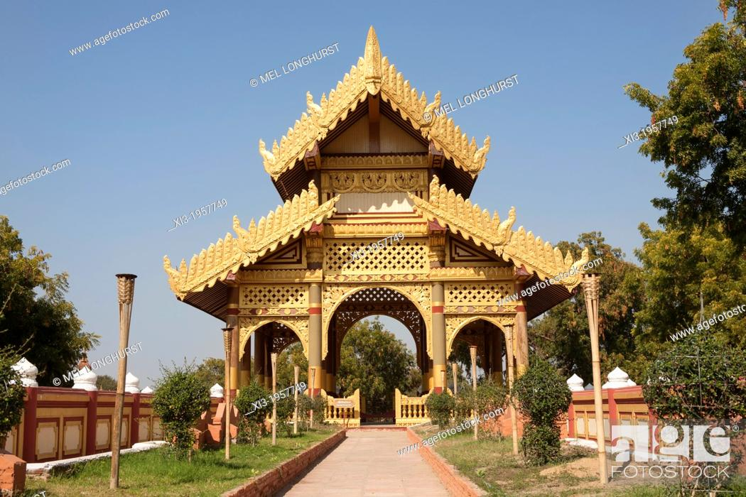 North Entrance Hall replica, Bagan Golden Palace, Bagan