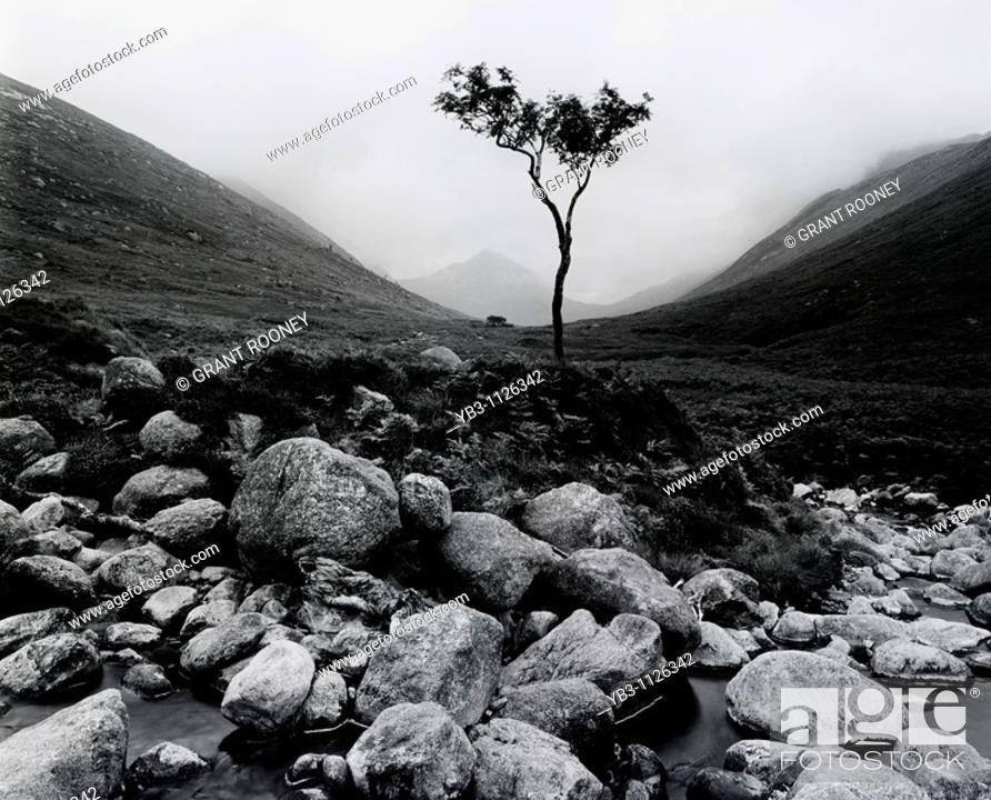 Stock Photo: Glen Rosa, Isle of Arran, Scotland.