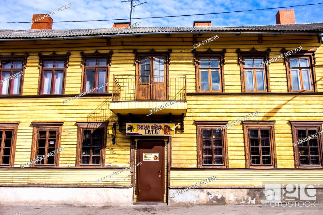 Stock Photo: Telliskivi Loomelinnak (Creative City), which is located in a former industrial complex next to the Balti Railway Station on the borders between the City Centre.