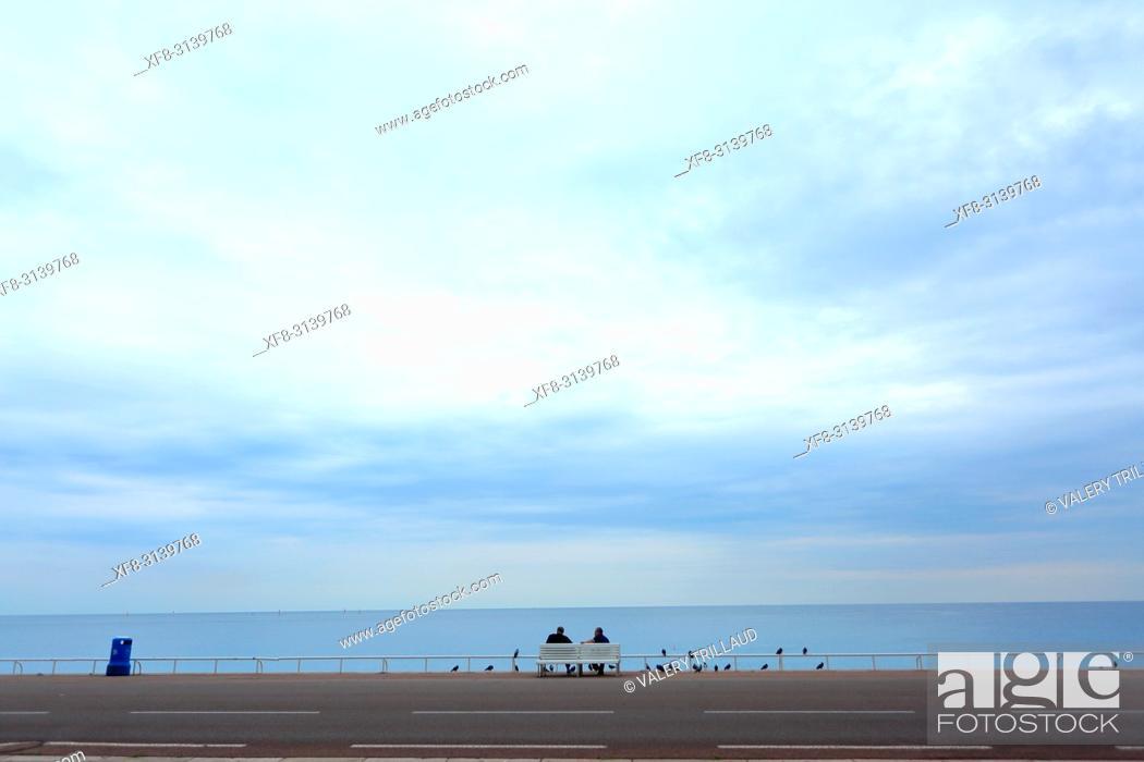 Stock Photo: Nice, Alpes Maritimes, 06, PACA, France.