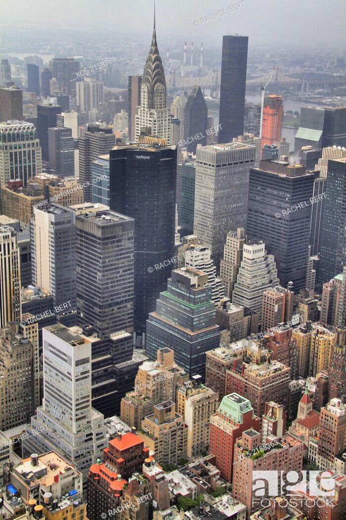 Stock Photo: Urban Landscape, New York City, United States.