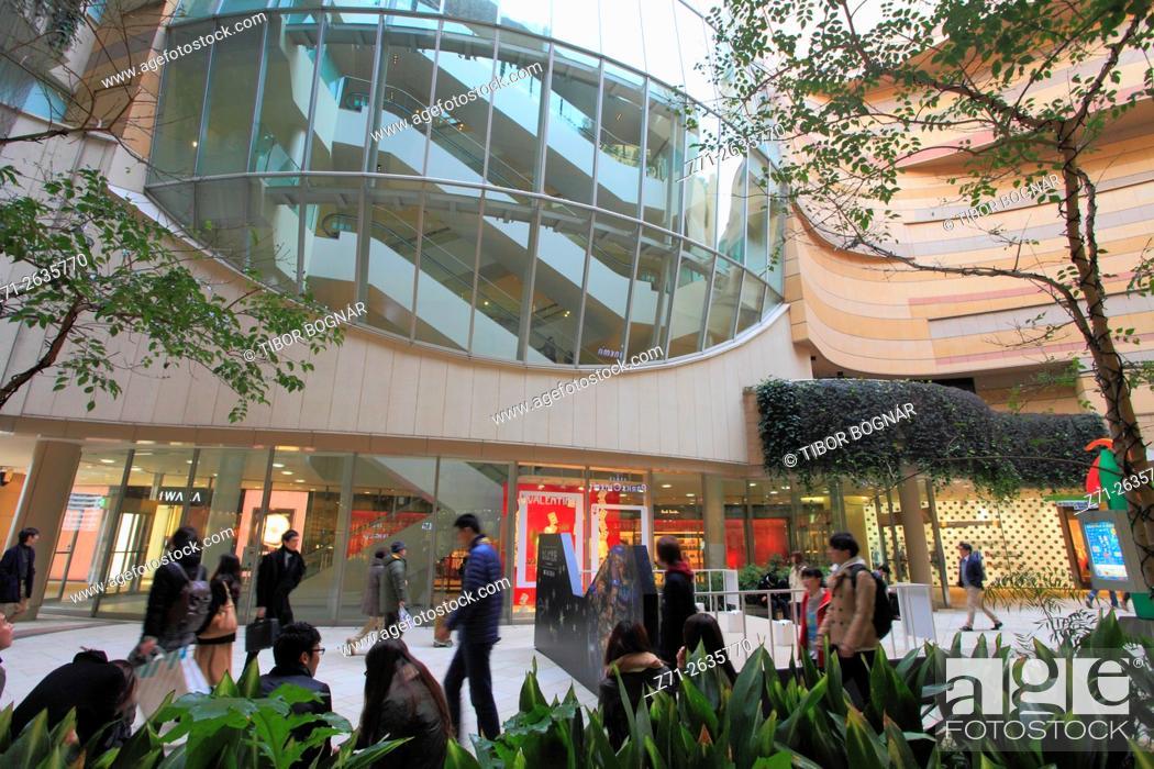 Imagen: Japan, Osaka, Namba Parks, shopping, leisure, people, .
