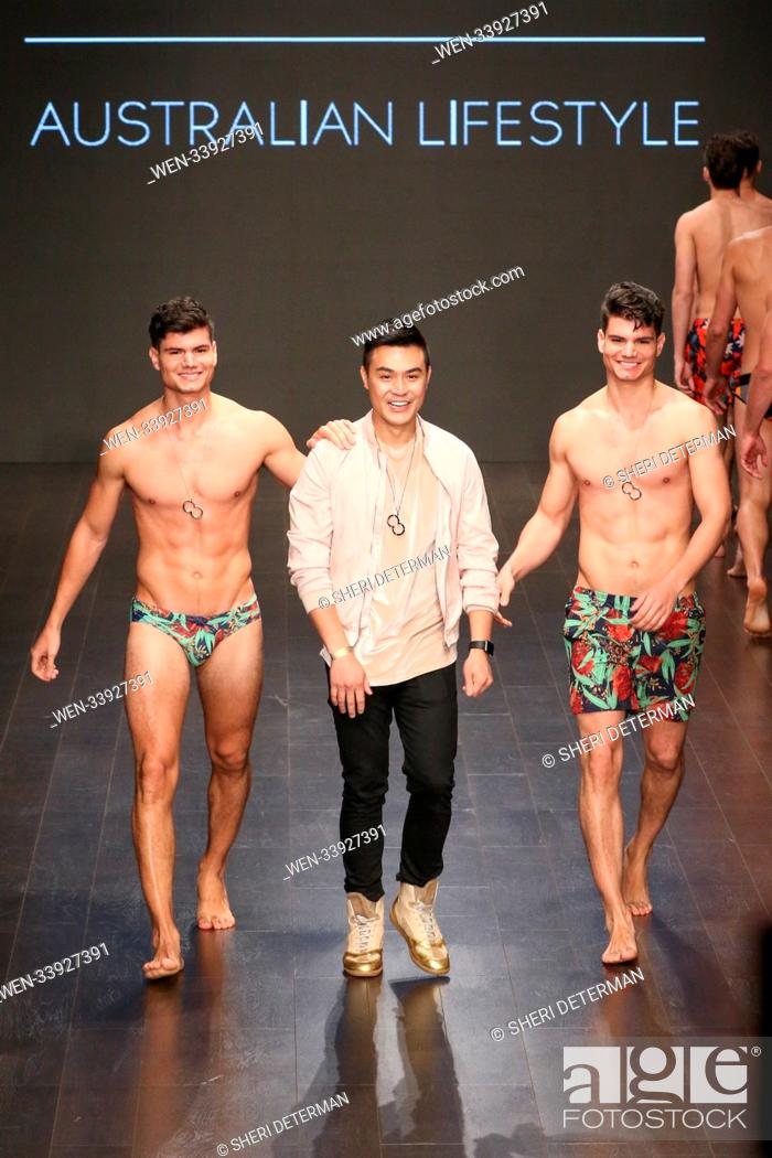 2eros Fashion Show At Art Hearts Fashion During La Fashion Week Featuring Jason Hoeung Stock Photo Picture And Rights Managed Image Pic Wen 33927391 Agefotostock